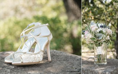 Bridal Shoes Kunde Winery Kenwood Wedding Photographers