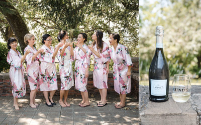 Bridal Party Kunde Winery Kenwood Wedding Photographer