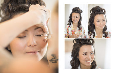 Cornerstone Sonoma Wedding Photographers Bridal Makeup