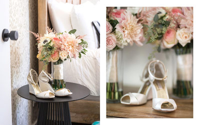 Cornerstone Sonoma Wedding Photographers Bridal Shoes