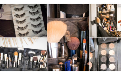 Cornerstone Sonoma Wedding Photographers Makeup Kit