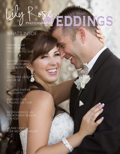 Best Photographer's Wedding Magazine in Sonoma