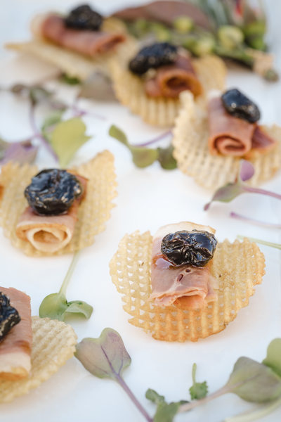 Best Wedding Appetizers Napa Valley Photography