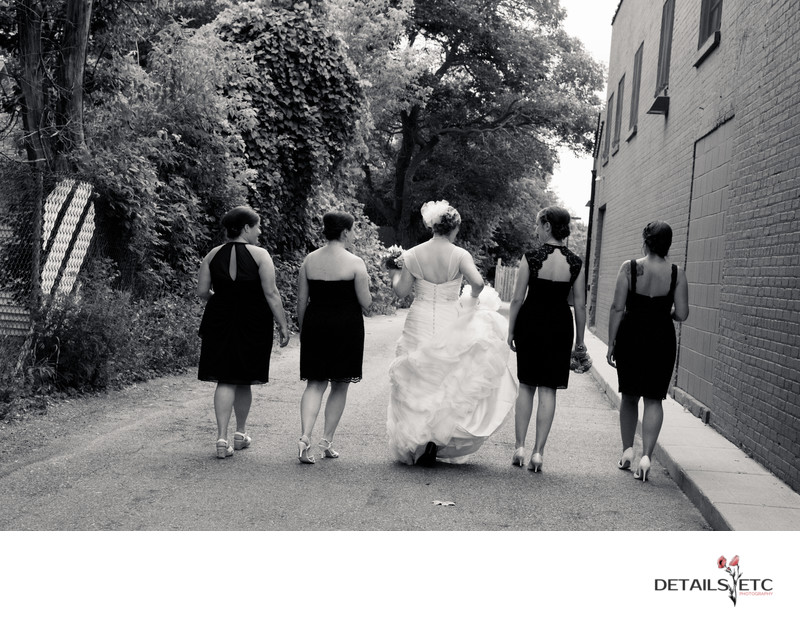 Bridesmaids in Grand Rapids MI