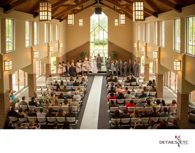 Kentwood Community Church Wedding Ceremony Photo