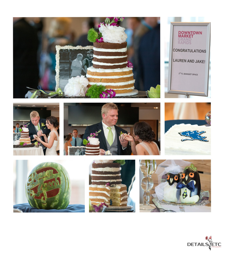 Downtown Market Grand Rapids Wedding Reception Photos