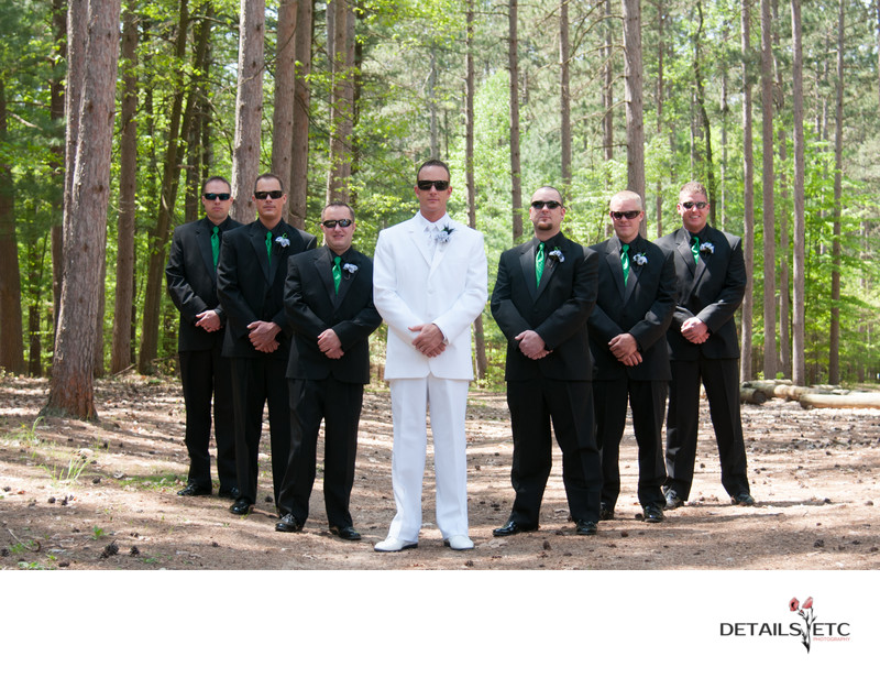 Camp Anna Behrens Groomsmen Picture