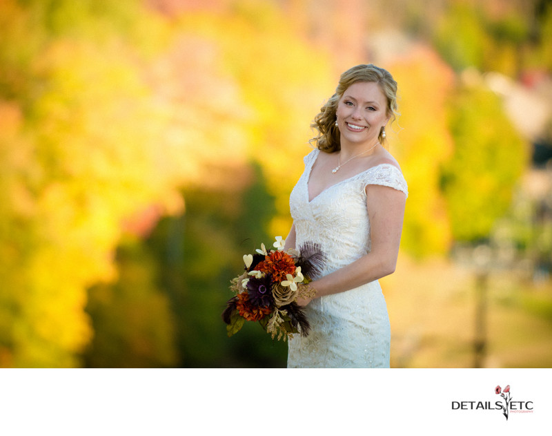 Fall Color Wedding at Crystal Mountain Weddings