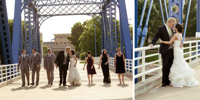 Grand Rapids Blue Bridge Wedding Pictures