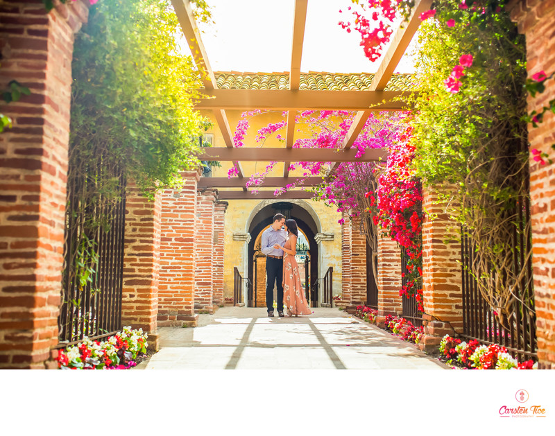 Mission San Juan Engagement Photos