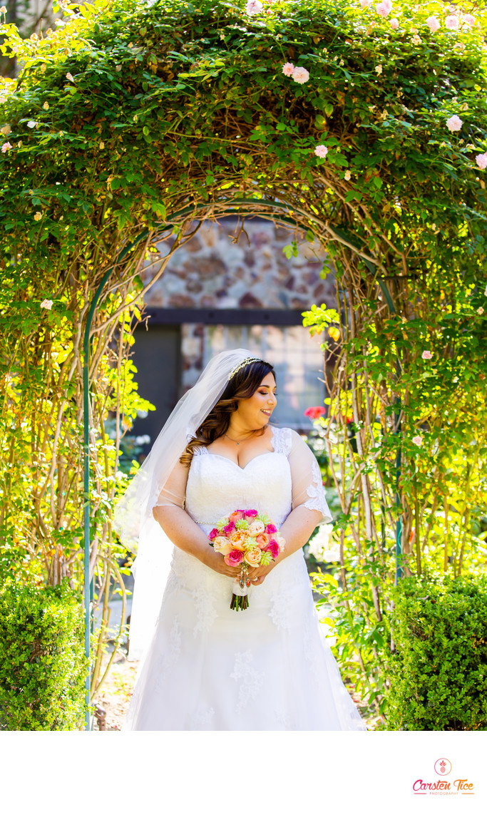 Anaheim Majestic Garden Hotel Wedding