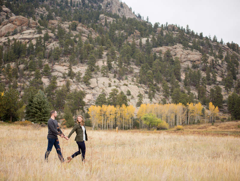 Estes Park Colorado Engagement Session