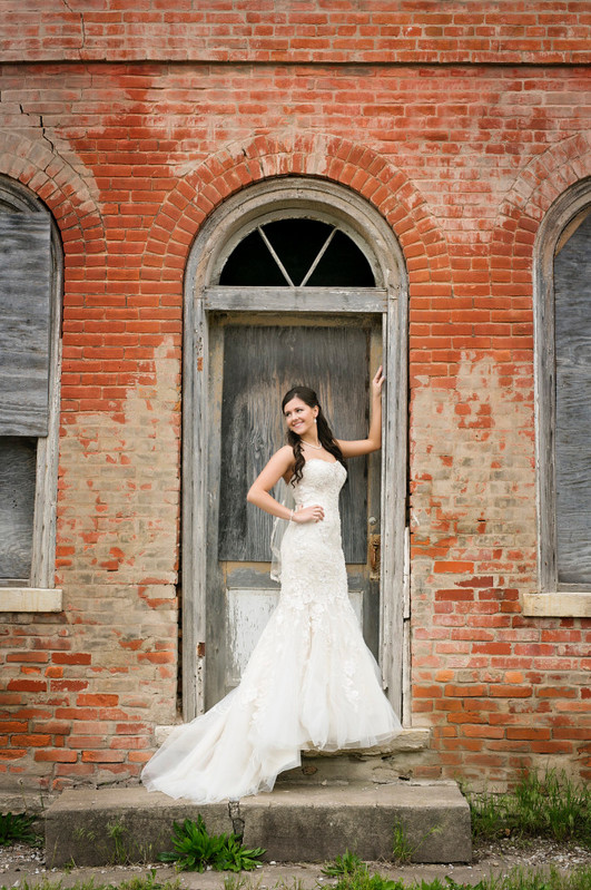 Gorgeous Wedding Bride Cedar Rapids Iowa