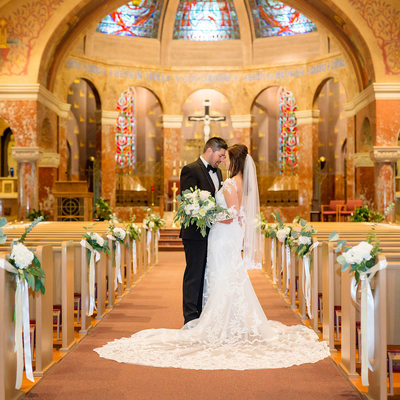 St. Patrick's Catholic Church Wedding Photo Photos