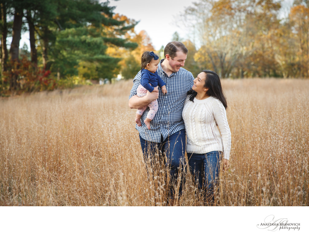 Fall Family Photos in Walpole