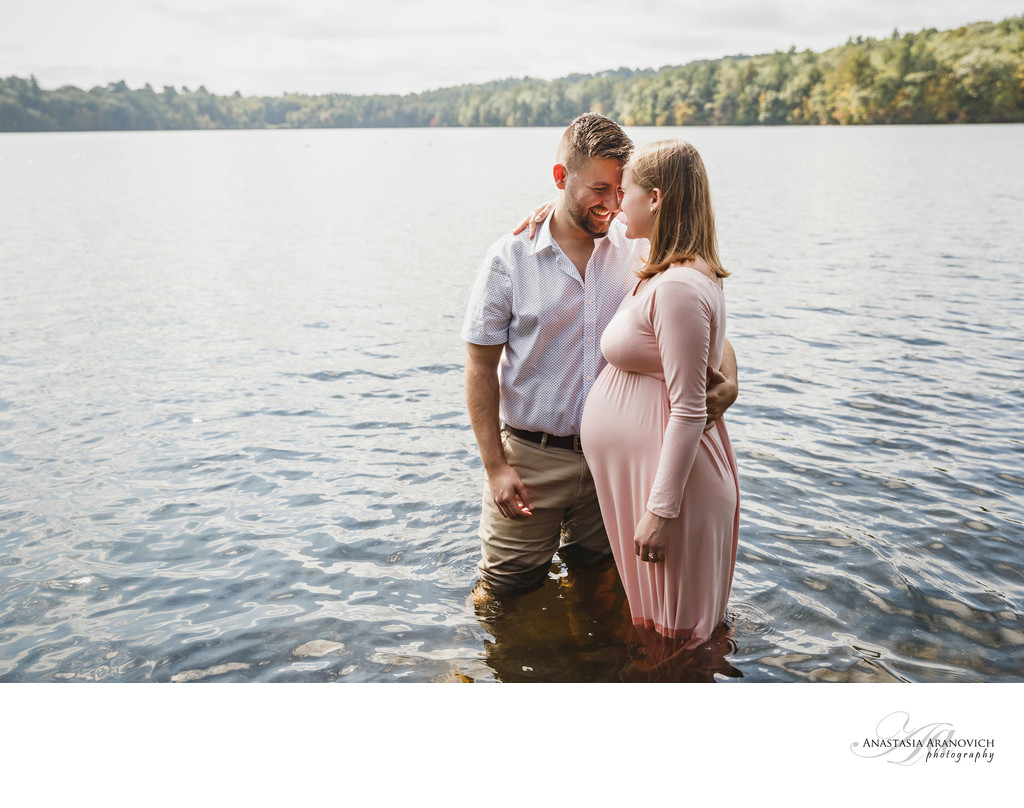 Wellesley College Maternity Photos