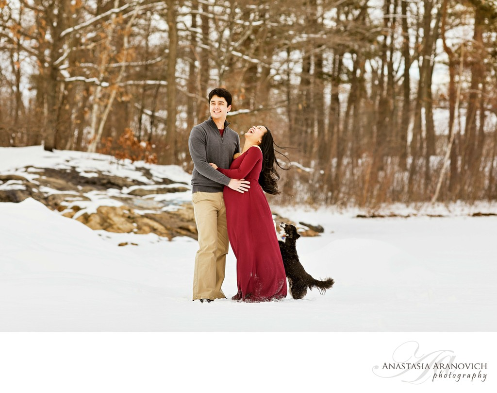 Pet-Friendly Maternity Photographer