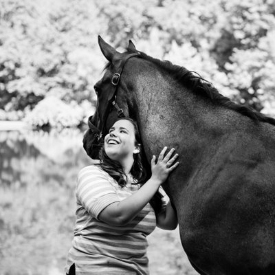 Senior Portraits with Horse