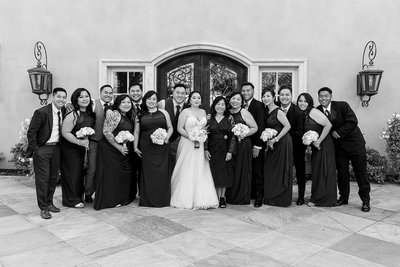Arden Hills wedding photography wedding party