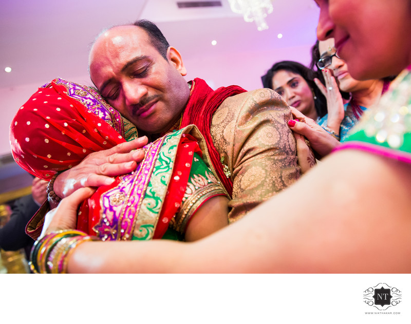 Emotional Moments in Indian Wedding