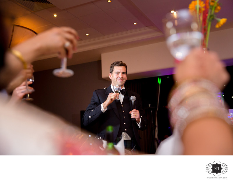 Reception Photographer in London