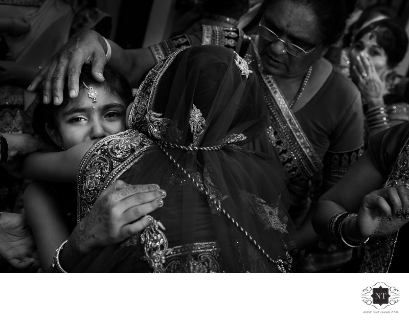 Fearless Award winning image by NIk Thakar,London based Indian Asian award winning wedding photographer