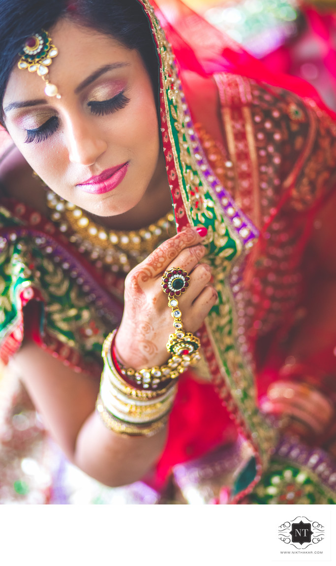Indian Bridal Portrait Photographer Nik Thakar