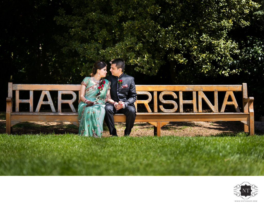 Hare Krishna Temple Wedding Photographer