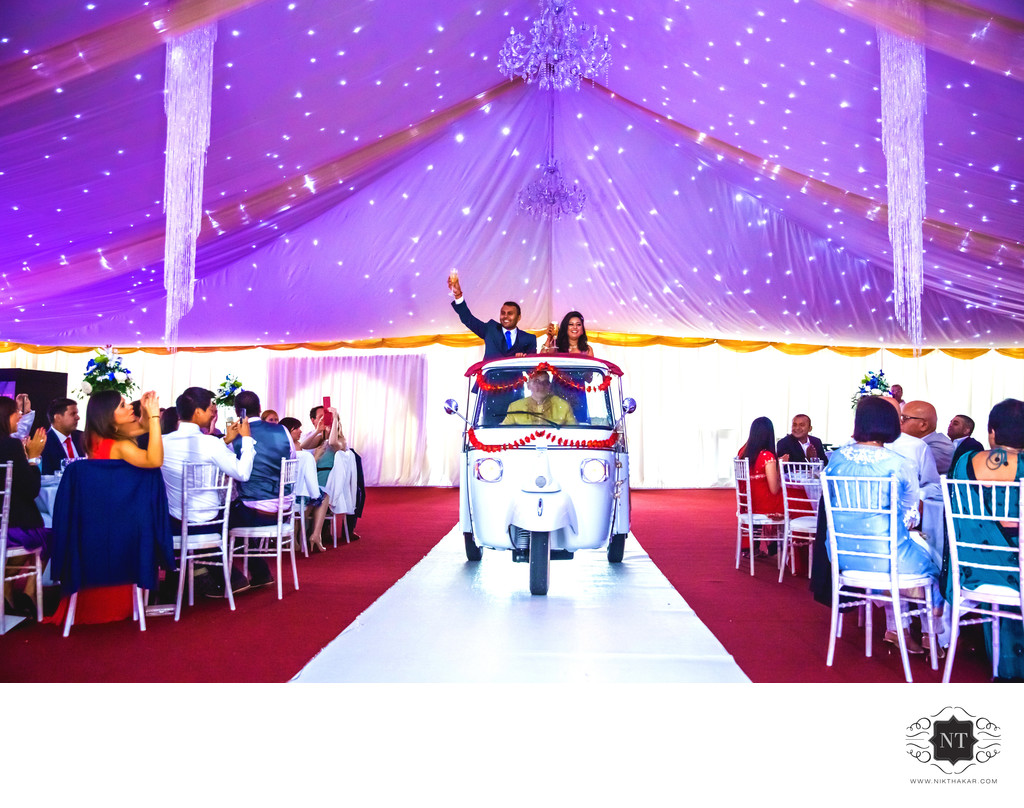 Tuk Tuk London Wedding Photographer
