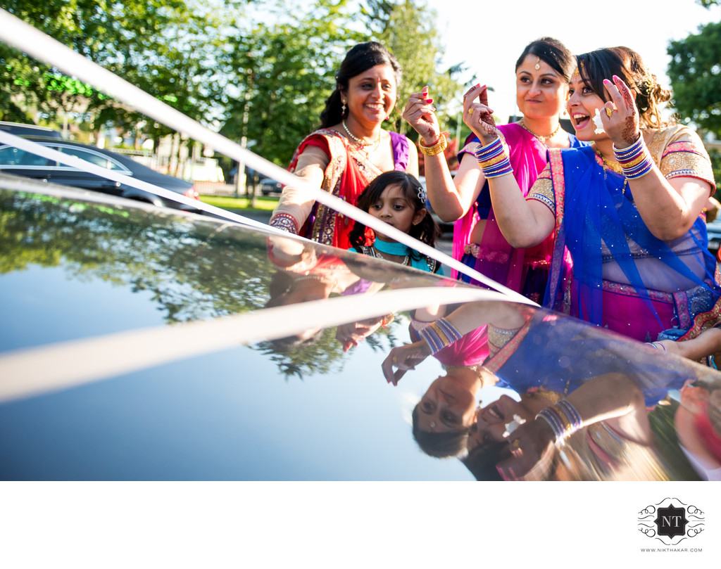 Indian Wedding vidai photography