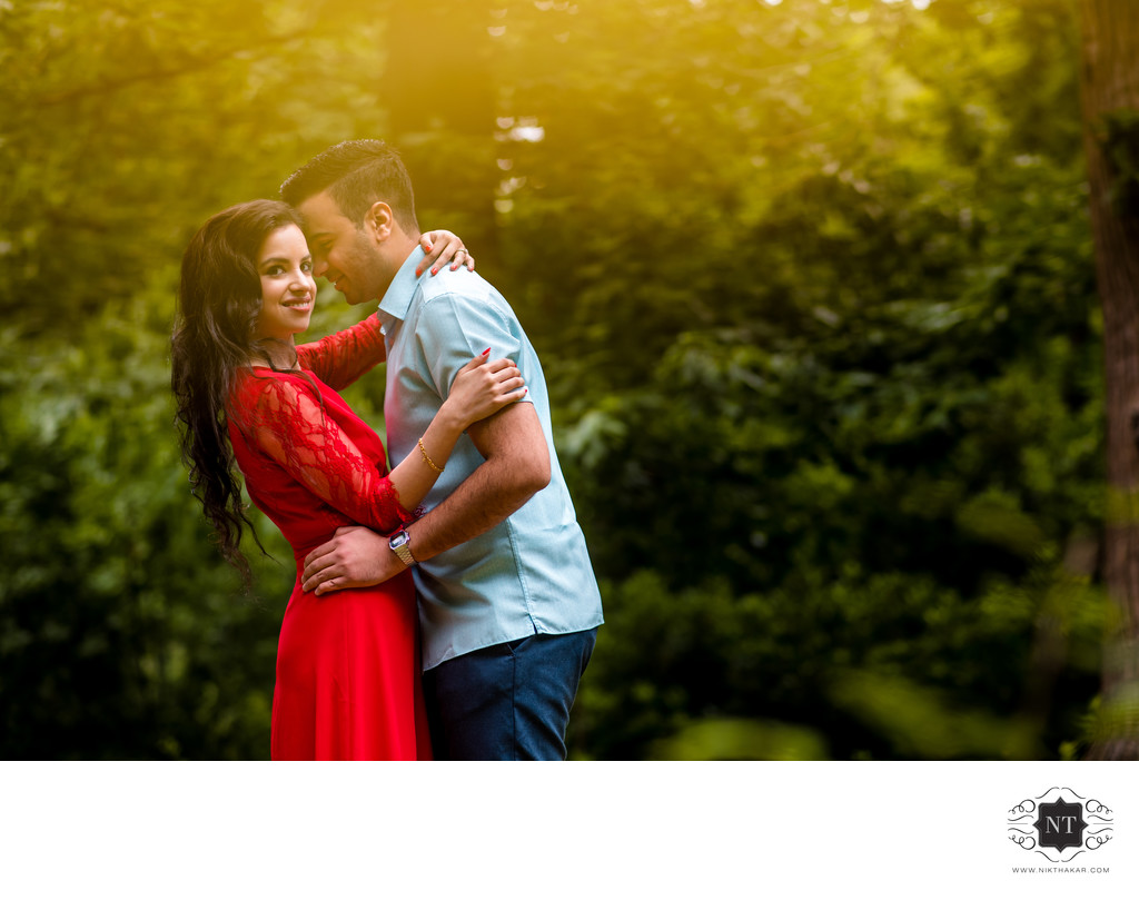 PREWEDDING SHOOT AT VIRGINIA WATER LAKE.