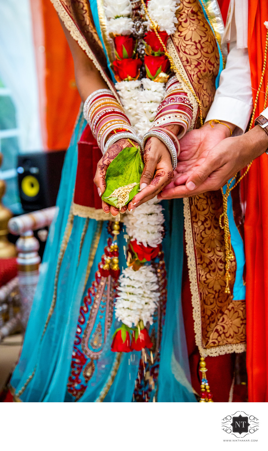 Hindu Wedding Ceremony Details Photography