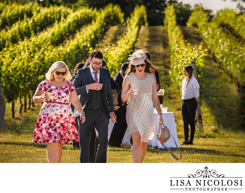 Weddings Pellegrini Vineyard North Fork Photographer