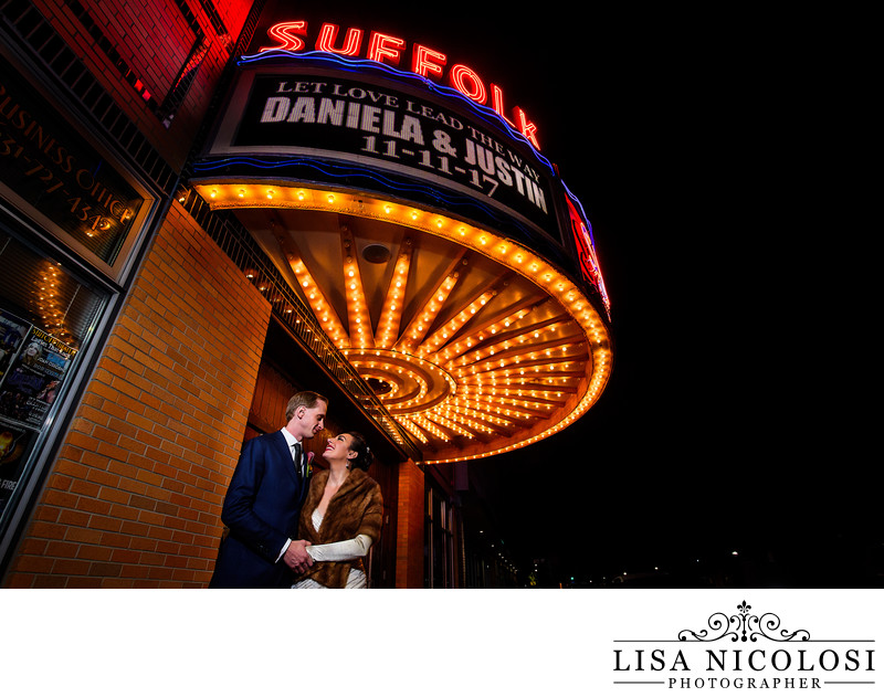 Suffolk Theater Wedding Photographer