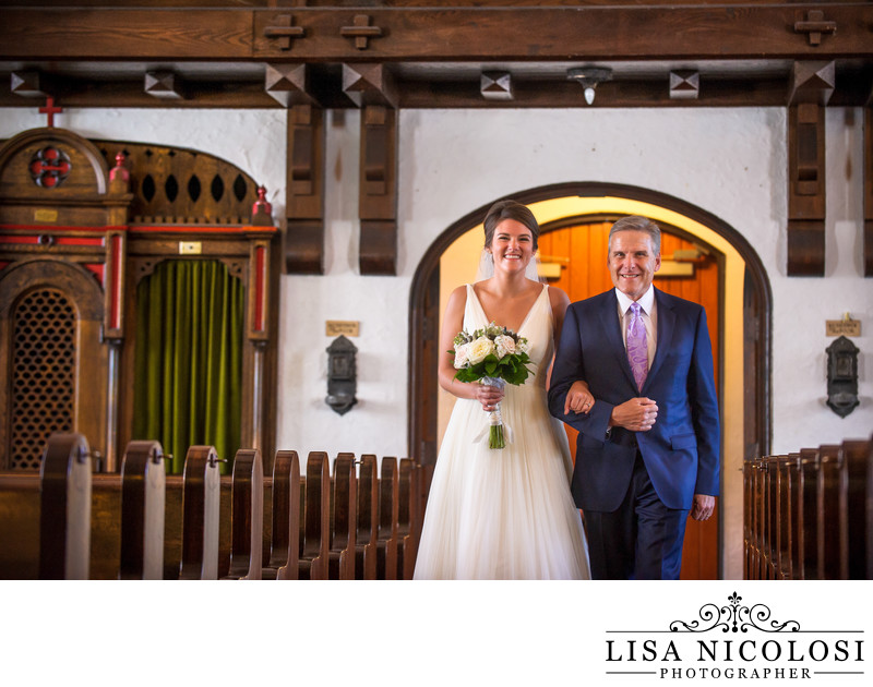 St Patrick's Southold Church Wedding Processional