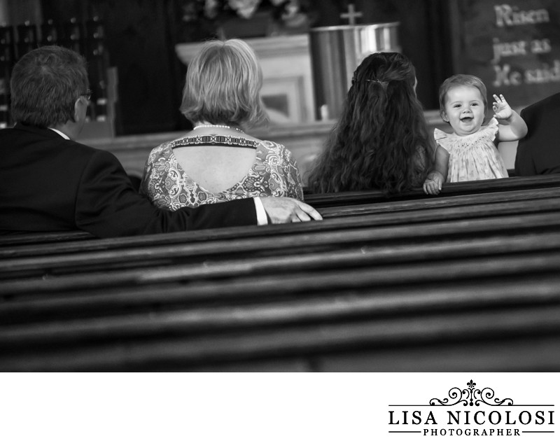 Wedding Ceremony at St. Patrick's Church in Southold