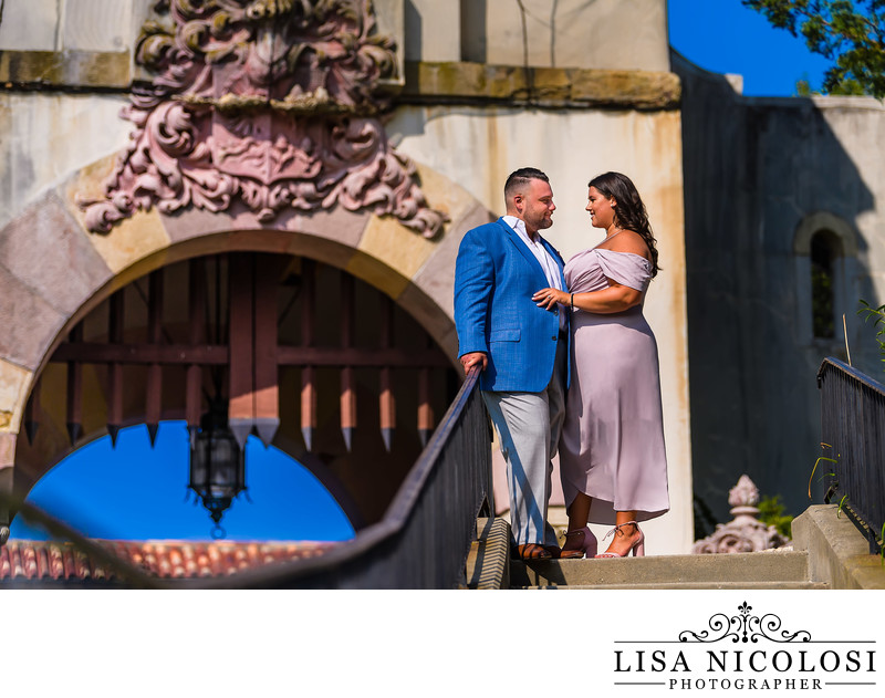 Engagement Session at Vanderbilt Museum Centerport