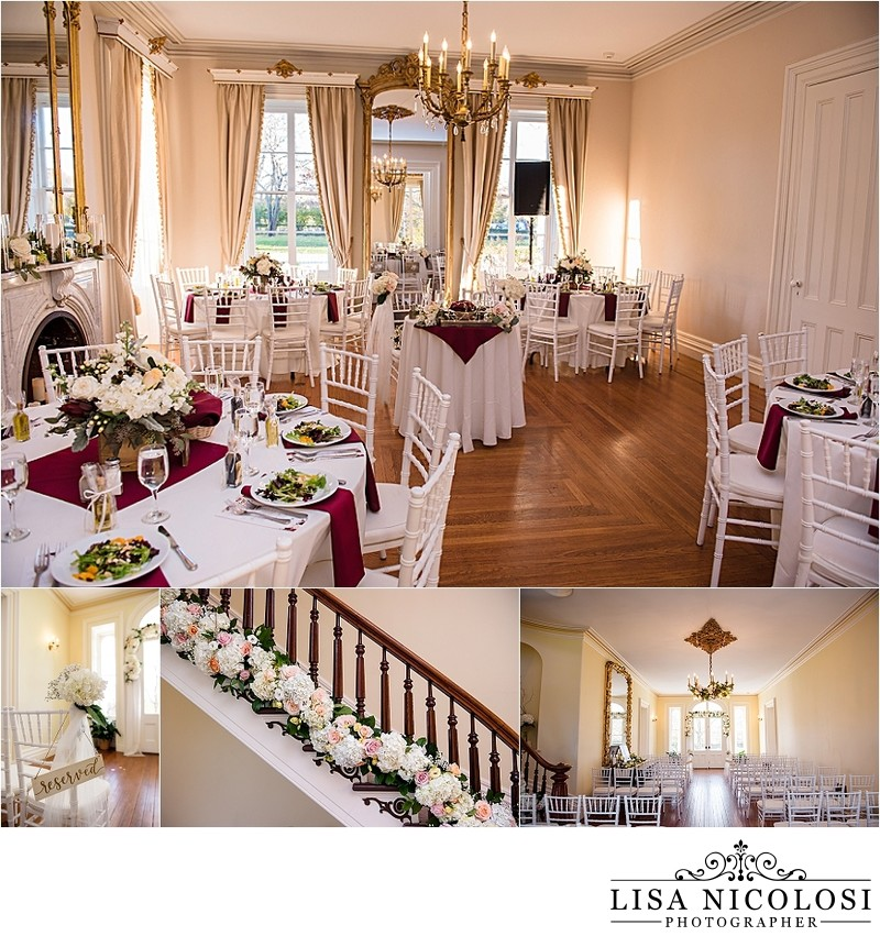 Intimate Wedding at Brecknock Hall - North Fork Venue