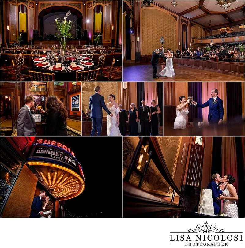 Suffolk Theater Wedding Pics