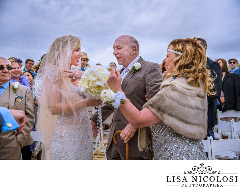 Oceanbleu Wedding Ceremony in Westhampton Beach