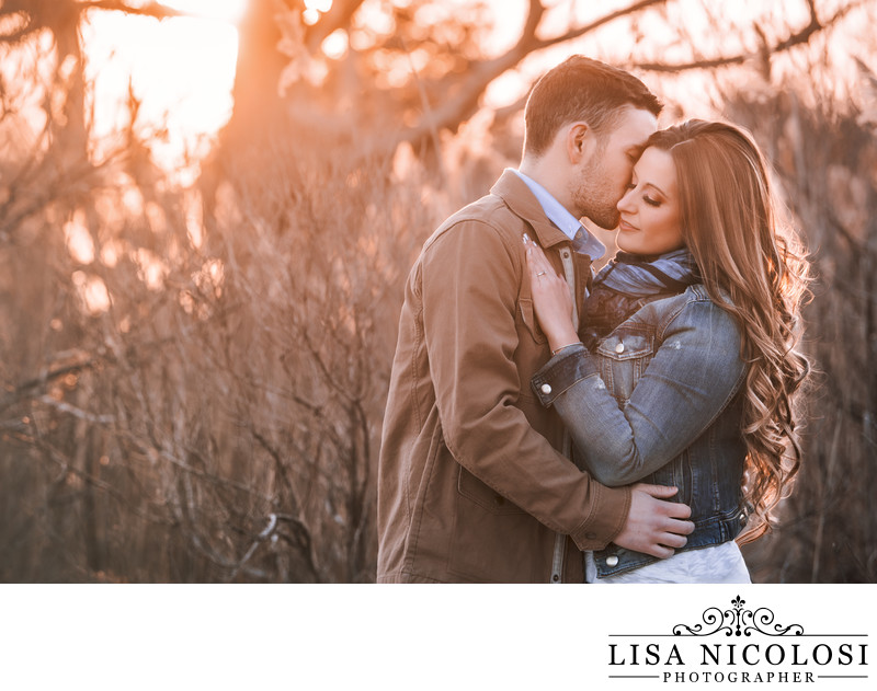 Southampton Engagement Session at Scallop Pond