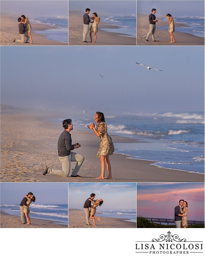 East Hampton Engagement Photographer