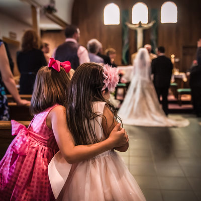 Wedding Ceremony at St. Francis De Sales Catholic Church