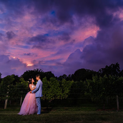 Old Field Vineyards Wedding in Southold