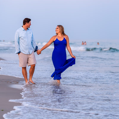 Robert Moses State Park Beach Engagement Session