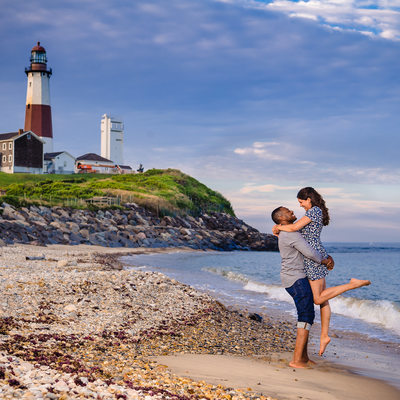 Montauk Engagement Photographer