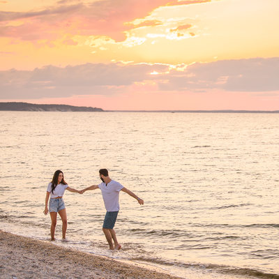 Hampton Bays Engagement Photographer