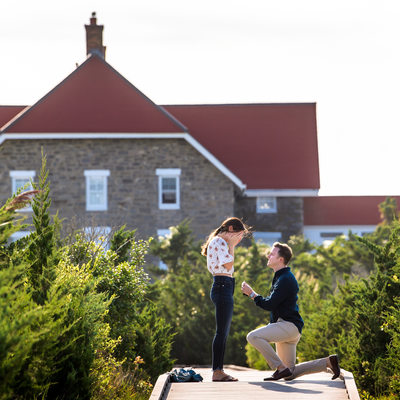 Fire Island Wedding Proposal Photographer