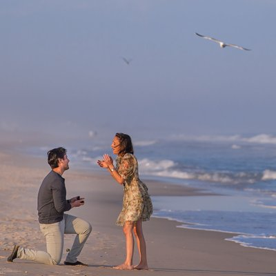 Hamptons Proposal and Engagement Photographer