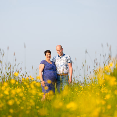 Maternity shoot boterbloemen